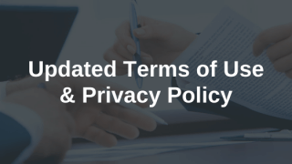 Updates to Terms of Use & Privacy Policy