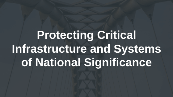 ABSIA's Submission to Protecting Critical Infrastructure and Systems of National Significance