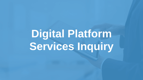 Digital Platform Services Inquiry - March 2021 Report on App Marketplaces Submission