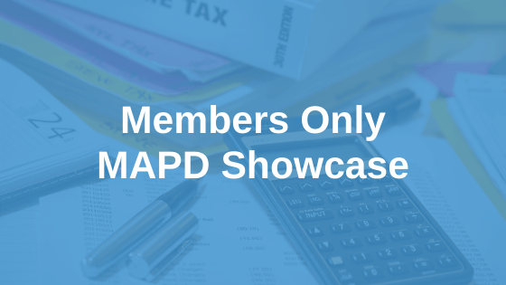 Members Only MAPD Showcase