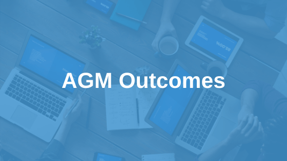 Annual General Meeting Outcomes 2020