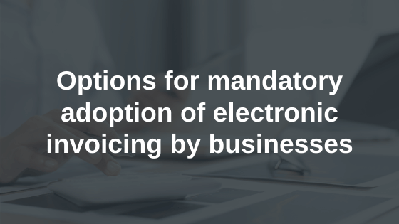 Mandatory E-invoicing for Businesses