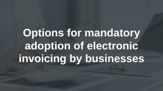 Mandatory E-invoicing for Businesses