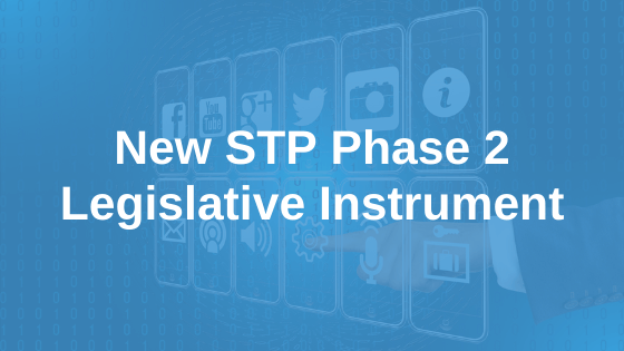 Software Industry Welcomes New STP Legislative Instrument