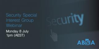 Security SIG Webinar